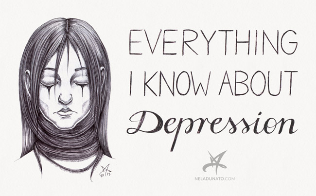 Everything I know about depression