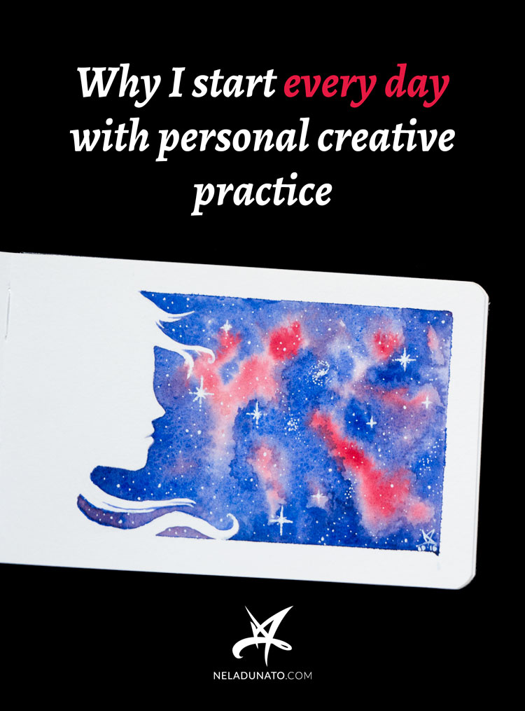 Why I start every day with personal creative practice