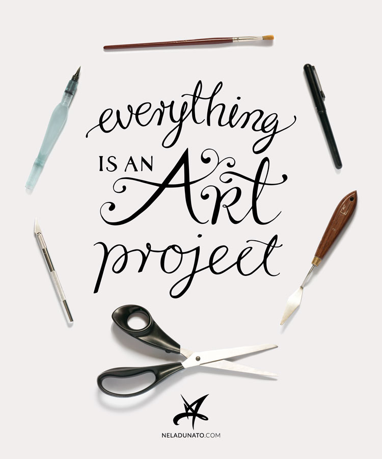 If you assumed everything was an art project, what would you do differently?