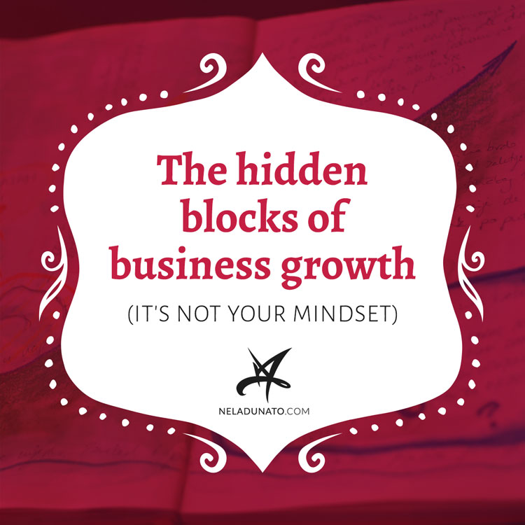 The hidden blocks of business growth (it's not your mindset)
