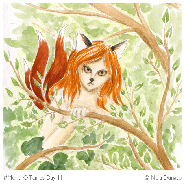 Month Of Fairies Day 11: Kitsune