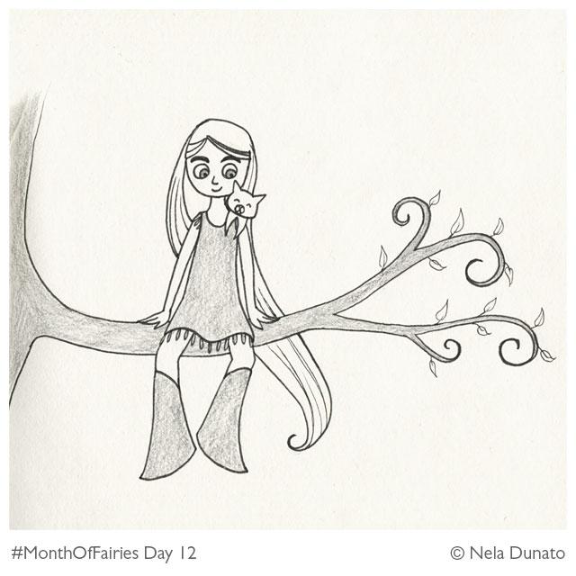 Month Of Fairies Day 12: Aisling & Pangur Ban
