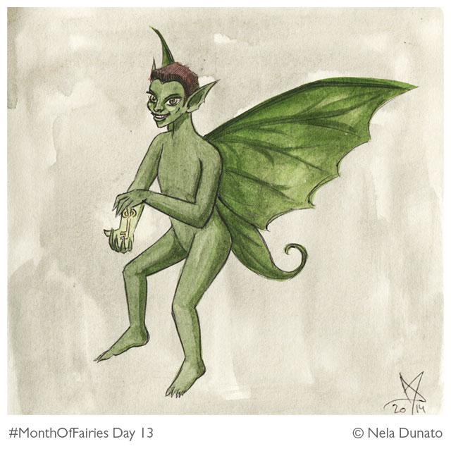 Month Of Fairies Day 13: Mischief