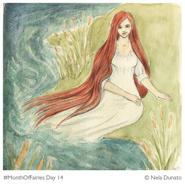 Month Of Fairies Day 14: Rusalka