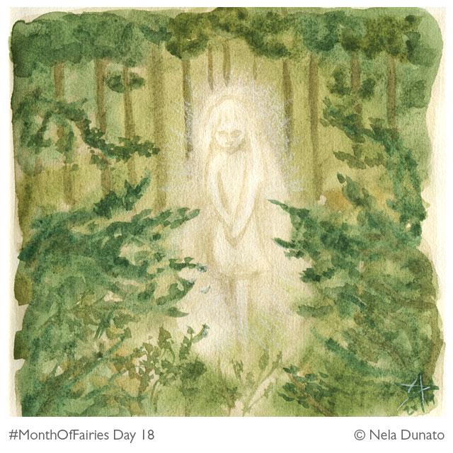 Month Of Fairies Day 18: Forest spirit