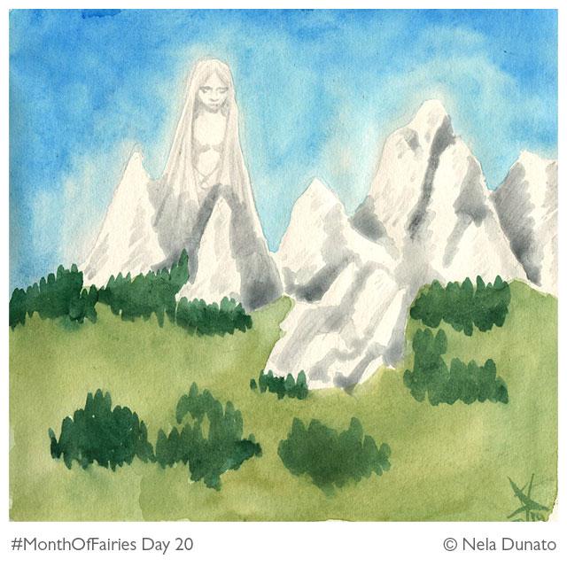 Month Of Fairies Day 20: The Fairy of Velebit