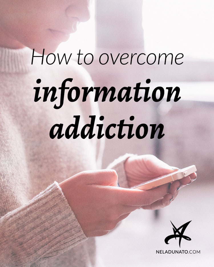 How to overcome information addiction