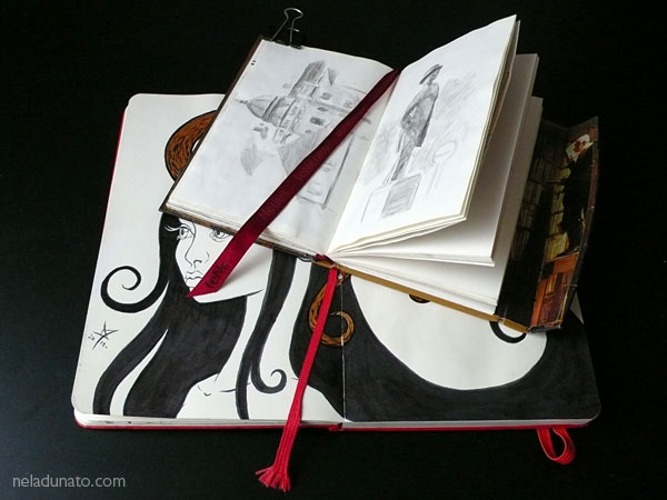Sketchbooks bookmarks